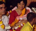 Celebrating 40th Wedding Anniversary At Rishikesh - Aug 2009