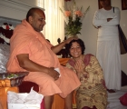 Shankra Charyaji at Kalra's Residence
