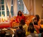Swamiji Chidanandji at Kalra's Residence