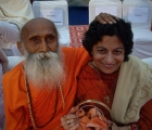 Yoganandaji with Satya Kalra