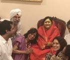 Amma Sri Karunamayi at Satya Kalra's Home July 2017